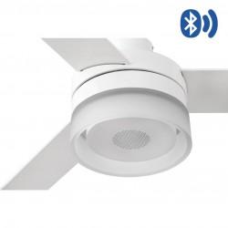 Ανεμιστήρας Με Bluetooth Ηχείο Με Ατσάλινο Μοτέρ Και MDF Λεπίδες LED 12W ICE LED SPEAKER FARO