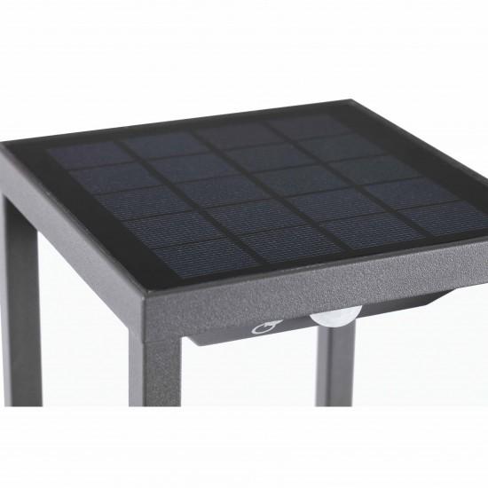SAURA LED Ηλιακό Φωτιστικό σκούρο γκρι FARO