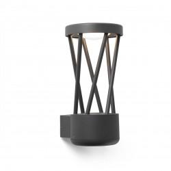 TWIST LED Επίτοιχο Φωτιστικό σκούρο γκρι FARO