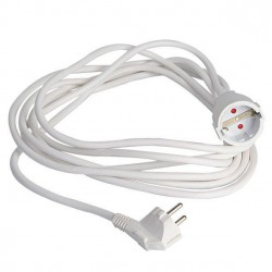 5m Extension Power Cord German Specifications 3Χ1.5mm Eurolamp