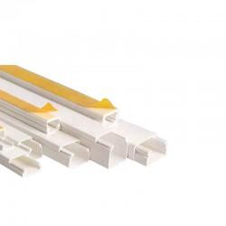 Distribution Channel 12x12mm Sticker TPS White Eurolamp