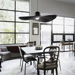 Μεταλλικό Φωτιστικό Οροφής Σε Σχήμα Καπέλου Σε Δύο Χρώματα 1xE27 MADAME SP1 IDEAL LUX