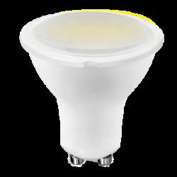 LED Σποτ GU10 5.5W Σε Λευκό Σώμα 100° 240V Led Id