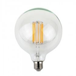 LED Διάφανες Νήματος Τύπου LONG Λάμπα Μπάλα G95 E27 8W 360º 230V Led Id
