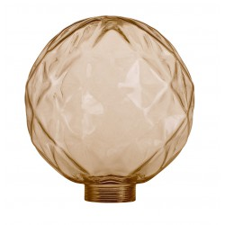 Διακοσμητικό Γυαλί CONCAVE 125x140 Amber LUCIDO