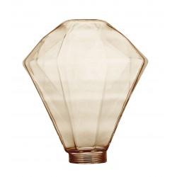 Διακοσμητικό Γυαλί DIAMOND 125x140 Amber LUCIDO
