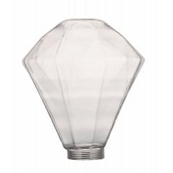 Διακοσμητικό Γυαλί DIAMOND 125x140 Clear LUCIDO