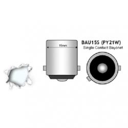 Λαμπτήρας BAU15S 45 SMD 4014 Can Bus 10-30v Ψυχρό 6000k