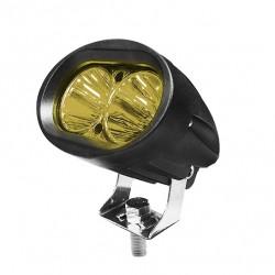 Αδιάβροχο Προβολάκι 20 Watt 10-30 Volt DC Κίτρινο Φως IP68
