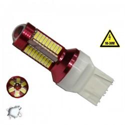 Λαμπτήρας LED T20 7440 Can Bus Με 78 SMD 4014 10-30v 6000k GLOBOSTAR