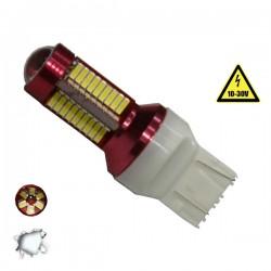 Λαμπτήρας LED T20 7443 Can Bus Με 78 SMD 4014 10-30v 6000k GLOBOSTAR