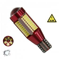 Λαμπτήρας LED T10 Can Bus με 78 SMD 4014 10-30V 6000K GloboStar