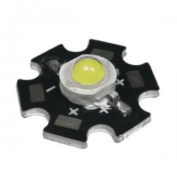 LED Star Υψηλής Ισχύος 5W Σε Ψυχρό Λευκό