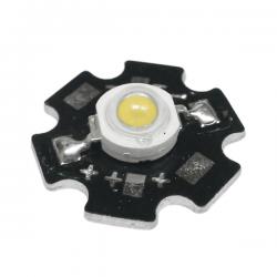 LED Star Υψηλής Ισχύος 1W Σε Θερμό Λευκό