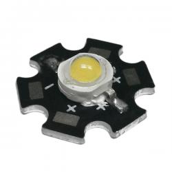 LED Star Υψηλής Ισχύος 5W Σε Θερμό Λευκό
