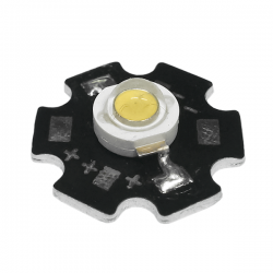 LED Star Υψηλής Ισχύος 3W Σε Θερμό Λευκό