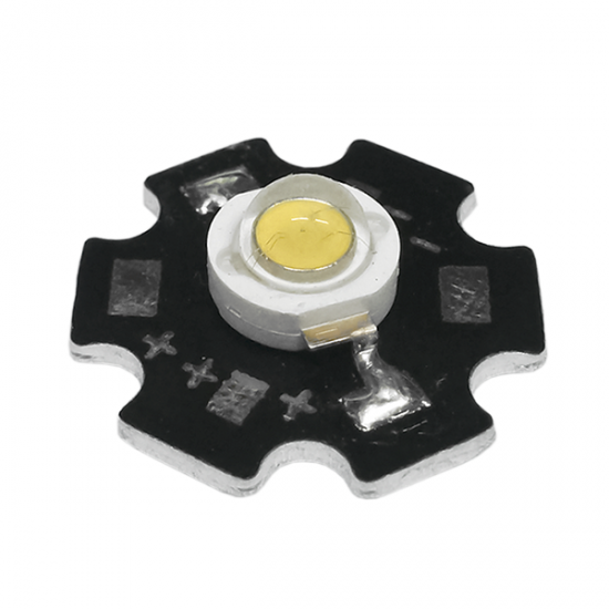 LED Star High Voltage Power 3W In Warm White