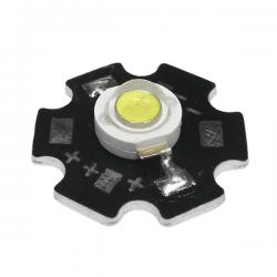 LED Star Υψηλής Ισχύος 3W Σε Ψυχρό Λευκό