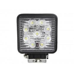 LED Floodlight 27 Watt 10-30 Volt DC Cool white