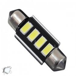 Σωληνωτός LED 36mm Can Bus Με 4 SMD 5630 Ψυχρό Λευκό GLOBO STAR