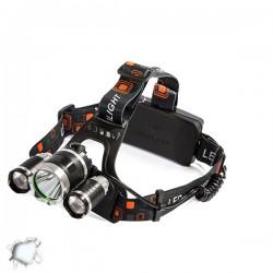 Πανίσχυρος Φακός Κεφαλής LED 3000 Lumen 8000Mah GLOBOSTAR 06003