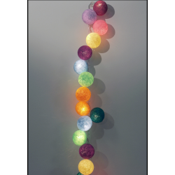 Beelights Decorative Festoon with Multi-Colour Lamps