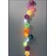 Έτοιμη Διακοσμητική Γιρλάντα Beelights Με Φωτάκια Σε Ένα Πολύχρωμο Συνδυασμό