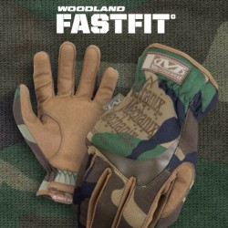 Gloves Proffesional Line USA FastFit Woodland Camo MECHANIX