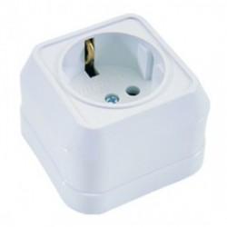 Εξωτερική Πρίζα Σούκο Σε Λευκό 240V/16W IP20 Makel
