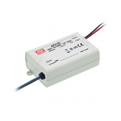 25W Plastic Power Supply 24V 1.05A MeanWell