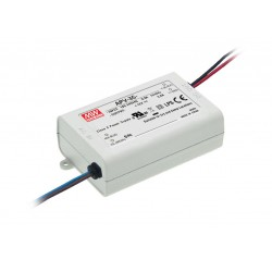 36W Plastic Power Supply 24V 1.5A MeanWell