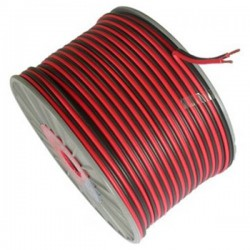 Speaker Cable 2x0.50mm Red-Black Copper OD4 HAI TOP ELECTRONIC
