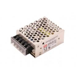 15W Τροφοδοτικό LED Power Supply 12V 1.3A Metal MeanWell