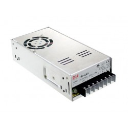 240W LED Power Supply 12V 20A Metal MeanWell