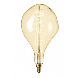 LED Λάμπα Filament XXL PS165 E27 6W 240V Dimmable Gold 2200K Calex