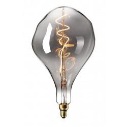 LED Λάμπα Filament XXL PS165 E27 6W 240V Dimmable Titanium 2200K Calex