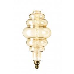 LED Λάμπα Filament XXL LS200 E27 6W 240V Dimmable Gold 2200K Calex