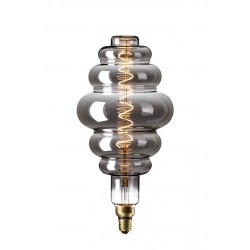 LED Λάμπα Filament XXL LS200 E27 6W 240V Dimmable Titanium 2200K Calex