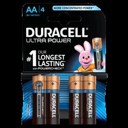 Μπαταρίες Αλκαλικές DURACELL Ultra AA LR6 4τμχ