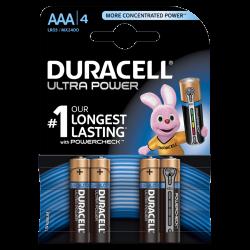 Μπαταρίες Αλκαλικές DURACELL Ultra AAA LR03 4τμχ