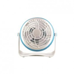 Mini Table Ventilator 10CM 1,8W With USB In Various Colors Eurolamp