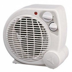 Fan Heater For Living Room White Eurolamp 147-29125