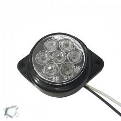LED Πλευρικά Φώτα Όγκου Φορτηγών BULLET IP66 7 SMD 24 Volt Ψυχρό GloboStar