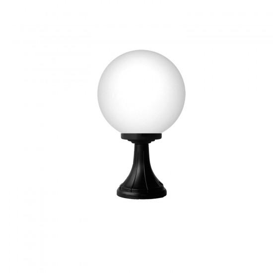 Εξωτερικό Φωτιστικό Δαπέδου Μαύρο D25 1xE27 Lp-100EN Black Heronia Lighting