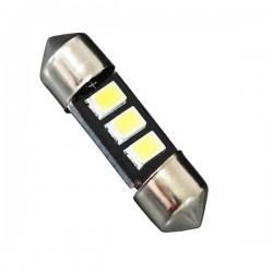 Σωληνωτός LED 36mm Με 3 SMD 5630 Samsung Chip Λευκό 6000k GLOBO STAR