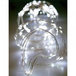 Fairy Lights 400 Led Χταπόδι 16 Γραμμών Με Μετασχηματιστή Ασημί Χαλκός Αδιάβροχα IP44 Λευκό Magic Christmas