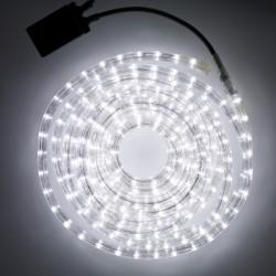 LED Rope Light 2 Way 10M IP44 White Magic Christmas