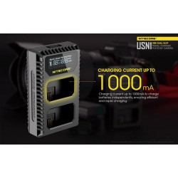 Charger NITECORE USN1 for SONY