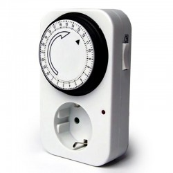 Mechanical Daily Socket Timer 3500W TG-14 TOP ELECTRONIC