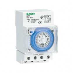 Analog Daily Rail Timer With Reserve 50mm SR4 GAC TOP ELECTRONIC